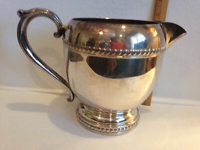 Vintage Silver Plated Pitcher 3