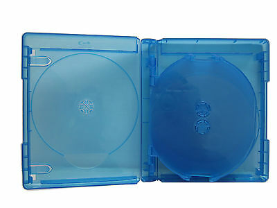 5 Pk New VIVA ELITE Hold 9 Discs Multi Blu-Ray replacement case Box (9 Tray)