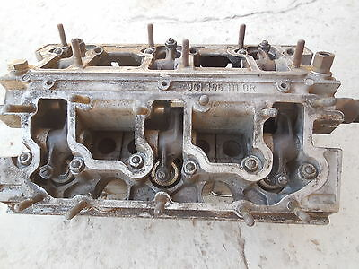 PORSCHE 911 CAMSHAFT housing with Cylinder heads 901 105 111 0R #FL