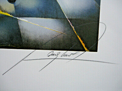 Lithographie Raymond Poulet- 75/54-La Fileuse- 87/200 5