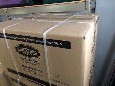 KINGSFORD SteakAger Dry Steak Aging Fridge Series 15 NEW IN BOX 4