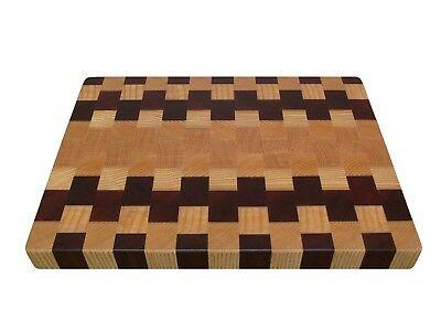 Cutting Board End Grain, Wooden, Handmade, with Feet, Chopping Board, Kitchen 4