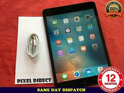 Apple iPad Mini 16GB 32GB 64GB WiFi or 4G Unlocked Black White iOS 9 - Ref 218 3