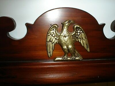 ETHAN ALLEN 43-1177 Antique Pine Old Tavern 18x29 Wall Mirror W/ Eagle Excellent 2