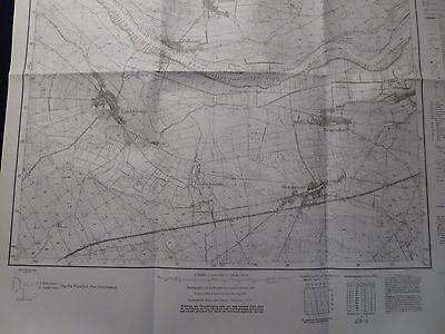 Landkarte Meßtischblatt 3955 Merzwiese i.d. Neumark / Wężyska, Crossen, 1938