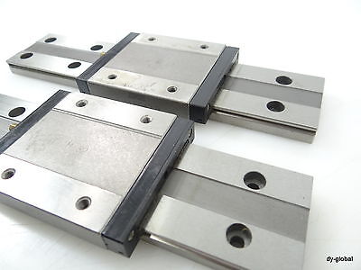 LWLFG42B+190mm IKO Used LM Guide THK, NSK Linear Bearing 2Rail 2Block CNC Route 3