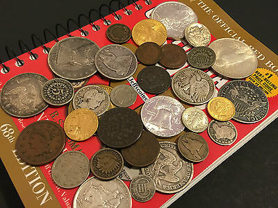 ✯Estate Sale Lot Old Us Coins✯ Money✯Gold Silver✯Big Value Collection 50 Years+✯ 11