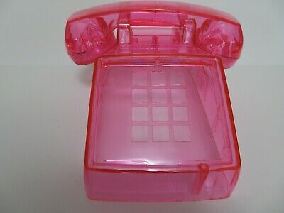 Western Electric telephone Model  2500 body clear pink New Antique telephone 5