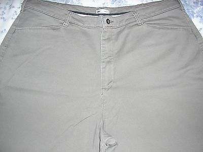 Lee At The Waist Light Brown Relaxed Fit Pants Jeans  22W Medium 2