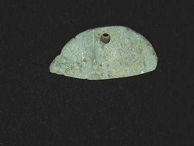 Carved Jade Pendant Costa Rica, Authentic Pre-Columbian Bead 5