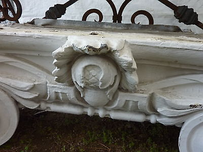 "GORGEOUS c1916 pilaster CAPITOL pediment salvaged HARVARD college 45"" x 13 x 15"" 7"