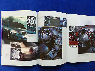 Prospekt Brochure 11.1999 Mercedes-Benz C-Klasse Limousinen C 43 AMG W202