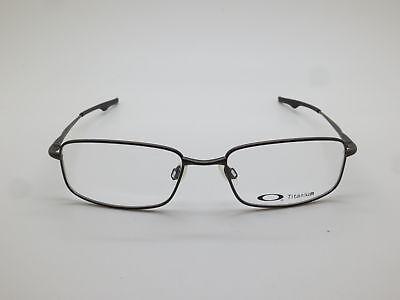 9f4bb7d352b ... New OAKLEY KEEL BLADE OX3125-0855 Pewter Titanium 55mm Rx Eyeglasses 2