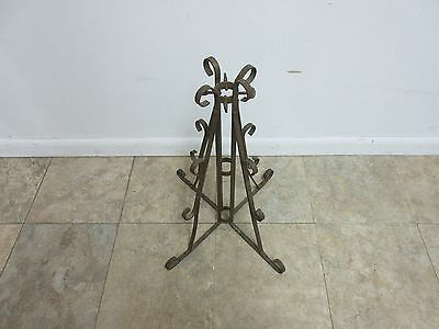 Antique Wrought Iron Scroll Flag Pole Music Stand Ceremonial 5