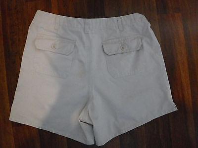 Old Navy Maternity Beige Khaki Shorts  Size M Perfect