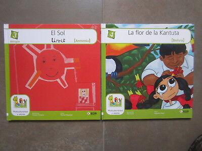 Coleccion 18 Libros Multicolor Cuentos Del Mundo Editorial Ecir. Bilingues 3