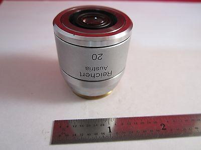Microscope Objective Reichert Fluor Dic 20 Polycon Epi Infinity Optiques B #11 3