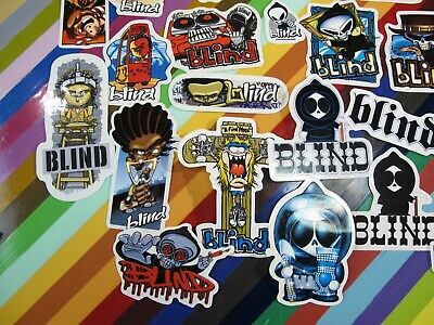 reaper graphics Kasper Creager vtg 1990s 2000s Blind skateboards sticker