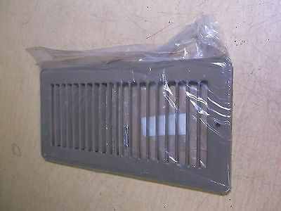 "NEW Hart & Cooley 420 Brown 10"" x 4"" 11307GS Floor Air Register Vent Cover"