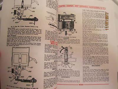Color 1929 Wico EK Magneto Service & Parts Manual  Hit Miss Engines 3