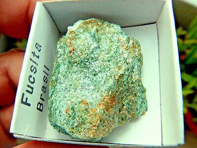 """Minerales """" Extraordinario Mineral De Fuchsita De Brasil -  10A15 """". 2"""