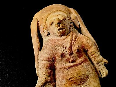Authentic Pre Columbian Clay Art Figure From Ecuador 10