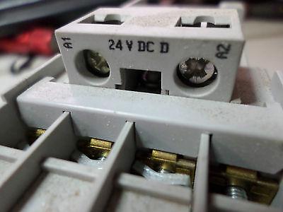 SPRECHER and SCHUH SAFETY CONTACTOR - CAS7-9D-14C - 4kW - 24DC Coils Plus Aux