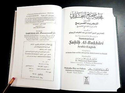Islamic Book. Summarized Sahih AL-Bukhari. P 1996 Arabic English 2