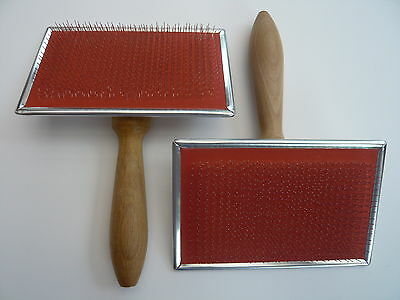 Heidifeathers® British Made Hand Carders (Pair) - For Wool + Silk 72 Point 6