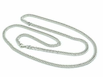 """Mens Womens Curb Link Chain Necklace Stainless Steel 316L 30"""" 5mm 27g Unisex 2"""