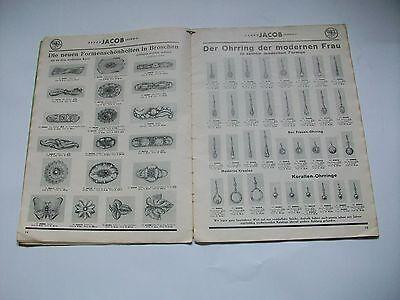 Katalog 1937 Uhren Schmuck Gold Silber Pforzheim Leipzig