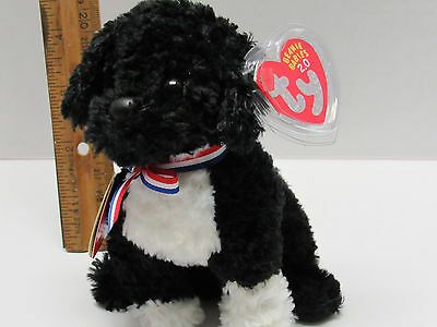 MINT with MINT TAG UNUSED CODE 2.0 BEANIE BABY TY DUCHESS the DOG