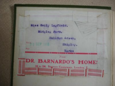 Noble Deeds of the World's Heroines - Dr. Thomas Barnado Homes Bookplate 2