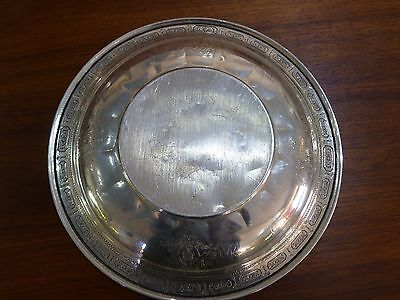 """Amazing Towle Sterling Silver Tray Charger Plate Old Master #6668 12"""" Wide 3"""