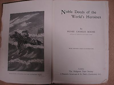 Noble Deeds of the World's Heroines - Dr. Thomas Barnado Homes Bookplate 3