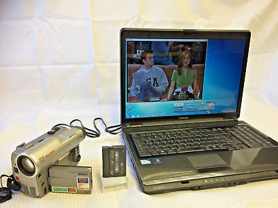 MiniDV Player / Recorder Kit ~ Convert Copy Mini DV to DVD, PC + CAMCORDER! 5