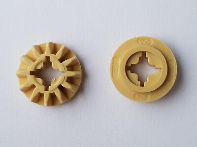 890 Lego Technic Zahnrad 12 Zähne Beige 4 Stück