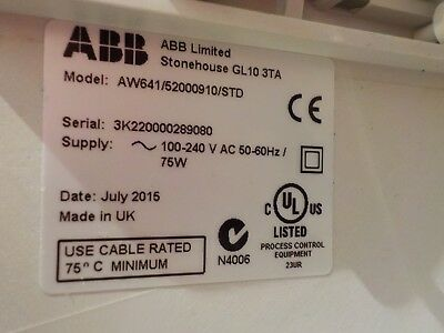 ABB Navigator 600 Silica Analyzer, AW641/52000910/STD 12
