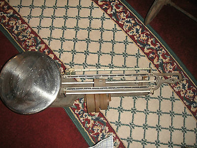Antique Ohaus Stainless Triple Beam Scale-20KG-Model 119S-Industrial Scale-LQQK