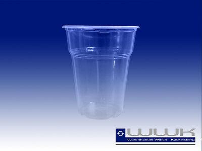 300 Trinkbecher Ausschankbecher Plastikbecher 0,3 Liter 300ml Bier Becher