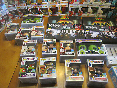 Funko Pop Sdcc 2019 Summer Convention San Diego Comic Con Shared Rare Complete 11