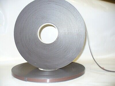 Magnetic Tape,Strip Self Adhesive 12.7mm x 2mm  Anisotropoic Strong High Energy 2