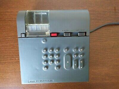 Olivetti Divisumma 28 Mario Bellini Design calculator Taschenrechner 70er Jahre 3