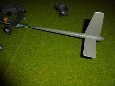 resin conv. Schlepptank mit Tragflächen      1//72 Bird Models Umbausatz