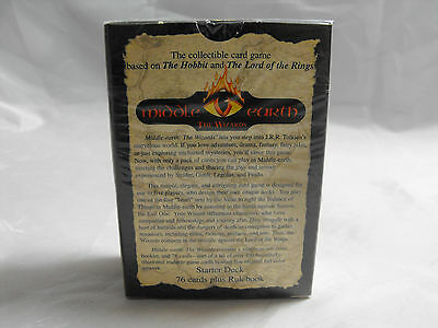 Middle Earth Ccg, Blue Border Premiere Sealed Starter Deck Of 76 Cards