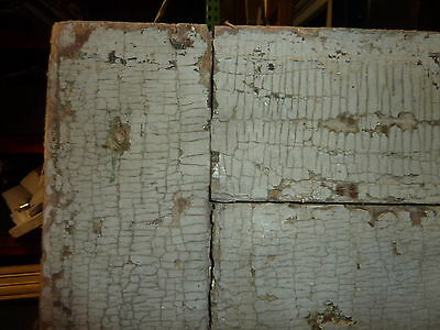 """LATE 18th century ANTIQUE colonial FOUR panel DOOR paint PATINA 78 x 35"""" x 1.25 8"""