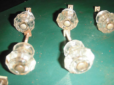 Vintage Glass Knobs--11 In All 4