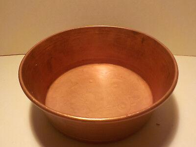 ++ Kleinere Kupfer Backform Kupferform Durchmesser ca 12,5 cm  ++