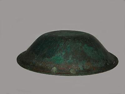 """UNIQUE VERY RARE LARGE ANCIENT BRONZE ROMAN/BYZANTINE/THRACIAN BOWL 16""""  (41 cm) 2 • CAD $4,920.00"""