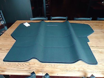 2008-13 Toyota Highlander Rear Cargo Mat Black Carpet *new Oem* / Pt548-4808R-11